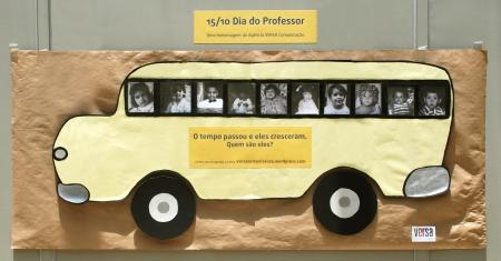 ônibus professores
